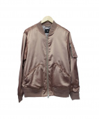 HARE(ハレ)の古着「MA-1ジャケット」|ピンクゴールド