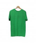 BALENCIAGA(バレンシアガ)の古着「リネンTシャツ」 グリーン