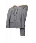 OFFICINA 36(オフィチーナ)の古着「サッカーセットアップスーツ」|ブルー