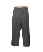 DEUXIEME CLASSE(ドゥーズィエムクラス)の古着「サマーウールパンツ」|グレー
