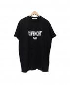 GIVENCHY(ジバンシー)の古着「Distressed Tee Shirt」 ブラック