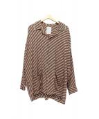 SHAREEF(シャリーフ)の古着「別注パイピングパジャマシャツ」|ベージュ