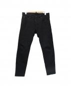 DSQUARED2(デイースクエアード)の古着「スキニーデニムパンツ」|ブラック