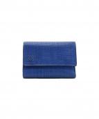 LOEWE(ロエベ)の古着「3つ折り財布」|ブルー