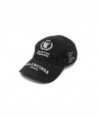 BALENCIAGA(バレンシアガ)の古着「WFPワールドフードプログラムキャップ」|ブラック