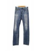 DENHAM(デンハム)の古着「28month SLIM FIT」|ブルー