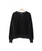 FilMelange(フィルメランジェ)の古着「ヴィンセントスウェット」|ブラック