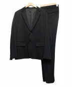 Edition(エディッション)の古着「セットアップカジュアルスーツ」|ブラック