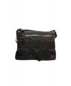 BRIEFING(ブリーフィング)の古着「TRAVEL SHOULDER BAG」|レッド×ブラック