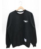 Supreme(シュプリーム)の古着「3Dメタリッククルーネックスウェット」 ブラック