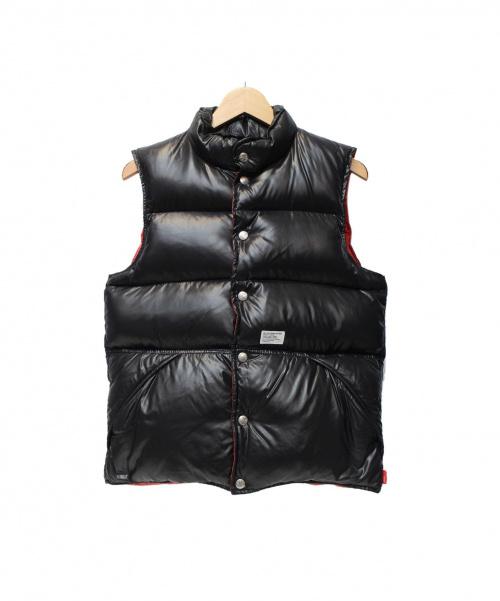 WTAPS(ダブルタップス)WTAPS (ダブルタップス) PACKERS ダウンベスト レッド×ブラック サイズ:記載なしの古着・服飾アイテム