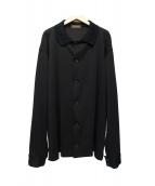YS for men(ワイズフォーメン)の古着「ジャージージャケット」 ブラック