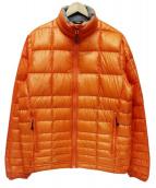 POLE WARDS(ポールワーズ)の古着「ダウンジャケット」|オレンジ