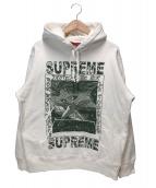 Supreme(シュプリーム)の古着「ドヴスフーデットスウェットシャツ」|ホワイト