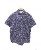 Serge Blanco(セルジュブランコ)の古着「半袖シャツ」|ネイビー