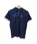 Serge Blanco(セルジュブランコ)の古着「ポロシャツ」|ネイビー