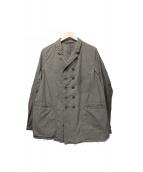 THE VIRIDI-ANNE(ヴィリジアン)の古着「コットンツイルコンビネーションジャケット」|ベージュ