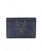 charlotte olympia(シャーロットオリンピア)の古着「カードケース」|ブルー