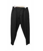 YohjiYamamoto pour homme(ヨウジヤマモト プールオム)の古着「タックパンツ」|ブラック