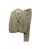 PARTHENOPE(パルテノペ)の古着「テーラードジャケット」|ベージュ