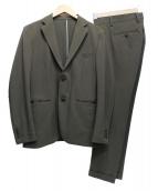 EDIFICE(エディフィス)の古着「セットアップスーツ」|オリーブ