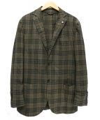 L.B.M.1911(エルビーエム1911)の古着「ライトウールジャケット」|ブラウン