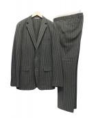 HUGO BOSS(ヒューゴボス)の古着「ウールセットアップスーツ」|グレー