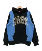 Supreme(シュプリーム)の古着「パネルドアーチフーデットスウェットシャツ」|ブラック