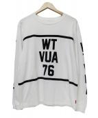 WTAPS(ダブルタップス)の古着「WTVUA 76 LS TEE」|ホワイト