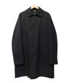 THE SUIT COMPANY(ザスーツカンパニ)の古着「ステンカラーコート」|ブラック