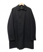 THE SUIT COMPANY(ザ・スーツカンパニー)の古着「ステンカラーコート」|ブラック
