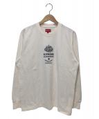 Supreme(シュプリーム)の古着「マラケッシュロングスリーブトップ」|アイボリー