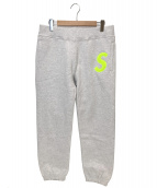 Supreme(シュプリーム)の古着「エスロゴスウェットパンツ」|グレー