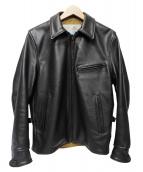 AERO LEATHER(エアロレザ)の古着「レザージャケット」|ブラウン