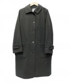 MHL.(エムエイチエル)の古着「メルトンコート」|オリーブ