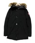 CANADA GOOSE(カナダグース)の古着「JASPER PARKA ダウン コート」 ブラック