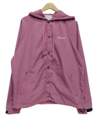 Lafayette(ラファイエット)の古着「U.S. DIVISION HOODED COACH JAC」 ピンク