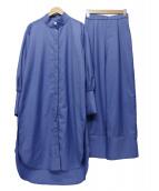 Ameri VINTAGE(アメリビンテージ)の古着「SHIRT MOTIF SET UP」|ブルー