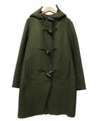 ara ara(アラアラ)の古着「melton duffel coat」 オリーブ