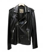 ZARA(ザラ)の古着「レザージャケット」|ブラック