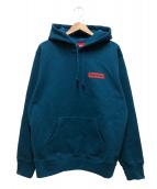 Supreme(シュプリーム)の古着「ストップクライングフーデットスウェットシャツ」|ブルー