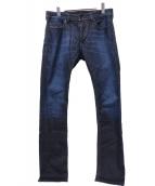 DIESEL(ディーゼル)の古着「THAVAR-NE Sweat jeans」|ブルー