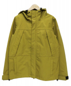 X-girl(エックスガール)の古着「3LAYER MOUNTAIN JACKETSOLID」|イエロー