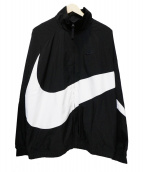 NIKE(ナイキ)の古着「ウーブンジャケット」 ブラック×ホワイト