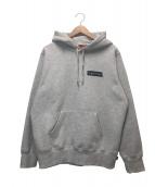 Supreme(シュプリーム)の古着「ストップクライングフーデットスウェットシャツ」|グレー