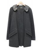 ISABEL MARANT(イザベルマラン)の古着「ウールコート」|ブラック
