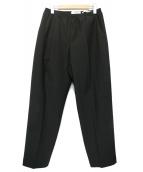 CellarDoor(セラドール)の古着「タックイージーパンツ」|ブラック