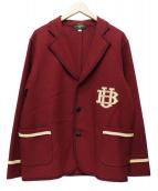 BUTCHER PRODUCTS(ブッチャープロダクツ)の古着「ウールテーラードジャケット」|レッド