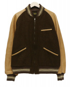 BUTCHER PRODUCTS(ブッチャープロダクツ)の古着「バーシティジャケット」|ベージュ