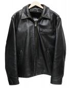 Schott(ショット)の古着「ライナー付きライダースジャケット」|ブラック